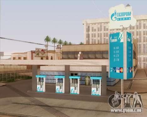 AZS Gazprom Neft pour GTA San Andreas