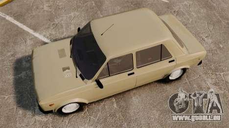 Zastava Yugo 128 pour GTA 4 est un droit
