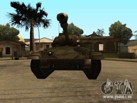 M24-Chaffee für GTA San Andreas linke Ansicht