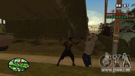 Schlagring für GTA San Andreas her Screenshot