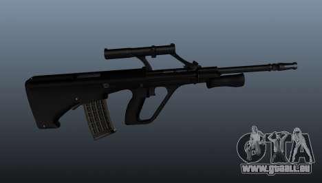 Fusil automatique de Steyr AUG pour GTA 4 troisième écran