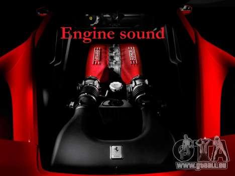 Sound eines Ferrari-Motors für GTA 4