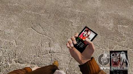 Le thème pour le téléphone t. a. u. t. pour GTA 4