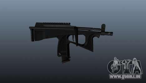 Pistolet mitrailleur pp-2000 v2 pour GTA 4 troisième écran