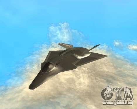FA-37 Talon für GTA San Andreas Rückansicht