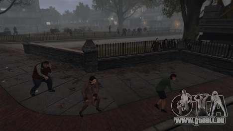 Nouveau Zombie-script pour GTA 4 troisième écran