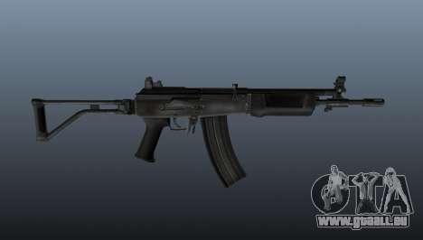 Eine israelische Galil-Sturmgewehr für GTA 4 dritte Screenshot