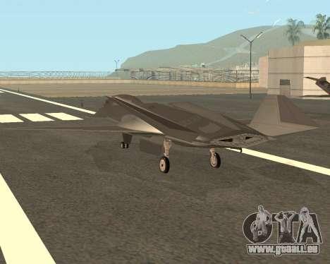 FA-37 Talon für GTA San Andreas zurück linke Ansicht