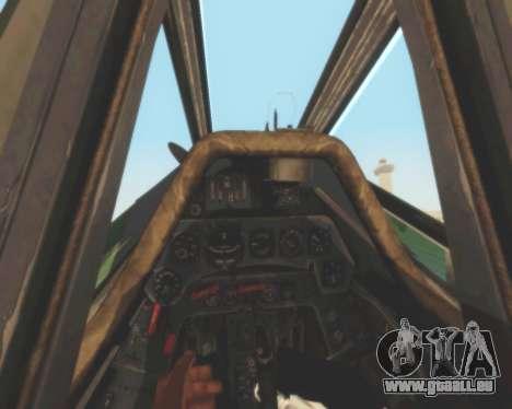 Focke-Wulf FW-190 D12 für GTA San Andreas Seitenansicht