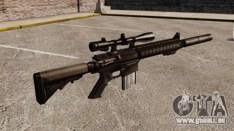 Le fusil de sniper SR-25 pour GTA 4 secondes d'écran