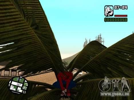 S'accroupir comme amazing Spider-man pour GTA San Andreas quatrième écran