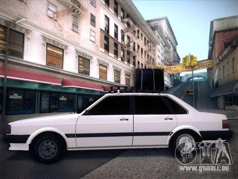 Audi 80 B2 v2.0 pour GTA San Andreas vue de côté