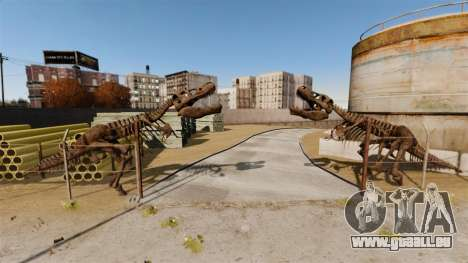 Bohan-Dukes Off Road Track pour GTA 4 secondes d'écran