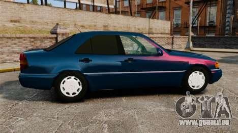 Mercedes-Benz C220 W202 v2.0 pour GTA 4 est une gauche