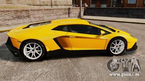 Lamborghini Aventador LP720-4 50th Anniversario pour GTA 4 est une gauche