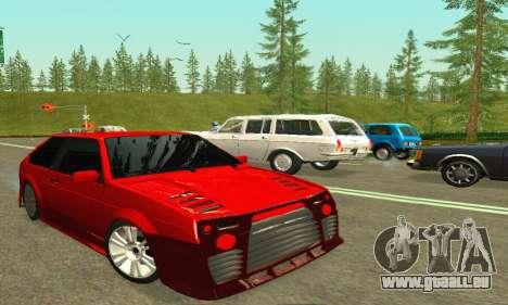 VAZ 2108 TAMR Style pour GTA San Andreas