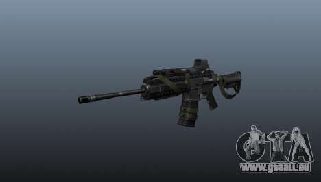 M4 Carbine Sopmod Herren für GTA 4
