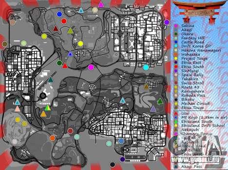 Mappack v1.3 by Naka für GTA San Andreas fünften Screenshot