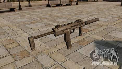 HK MP7 Maschinenpistole für GTA 4 Sekunden Bildschirm