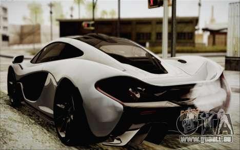 McLaren P1 2014 v2 pour GTA San Andreas laissé vue