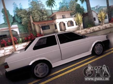 Volkswagen Voyage GL 94 2.0 pour GTA San Andreas vue arrière