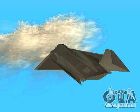 FA-37 Talon für GTA San Andreas Innenansicht