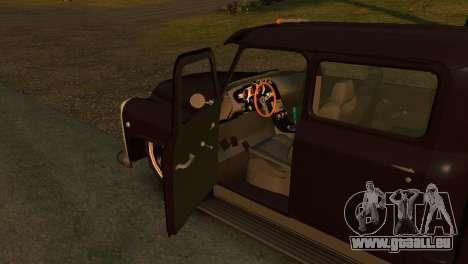 GAZ 53 pour GTA 4 Vue arrière de la gauche