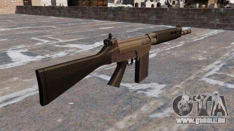 Fusil de bataille FN FAL pour GTA 4 secondes d'écran