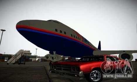 GTA IV Sabre Turbo pour GTA San Andreas vue de dessous