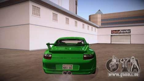 Porsche 911 TT Ultimate Edition pour GTA San Andreas sur la vue arrière gauche