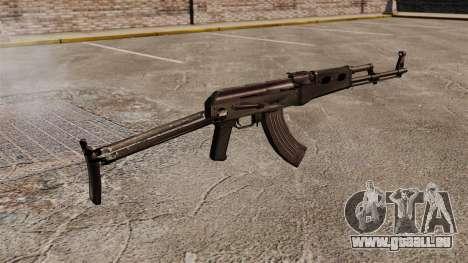 AK-47 v7 für GTA 4 Sekunden Bildschirm