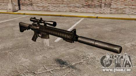 Le fusil de sniper SR-25 pour GTA 4