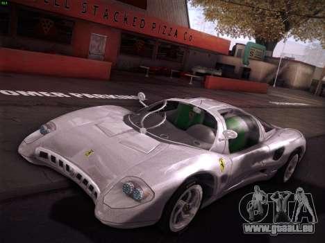 Ferrari P7 Chromo für GTA San Andreas