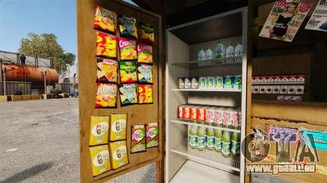 Neue Produkte in der Kaffee-kiosk für GTA 4 Sekunden Bildschirm