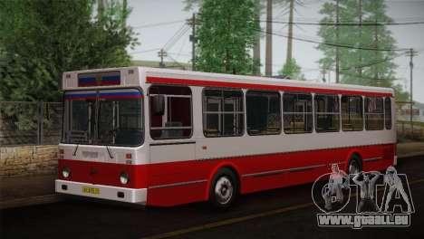 LIAZ peau 5256.00 3-Pack pour GTA San Andreas vue intérieure