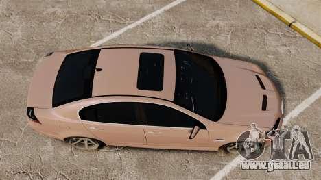 Pontiac G8 GXP [VE] 2009 für GTA 4 rechte Ansicht
