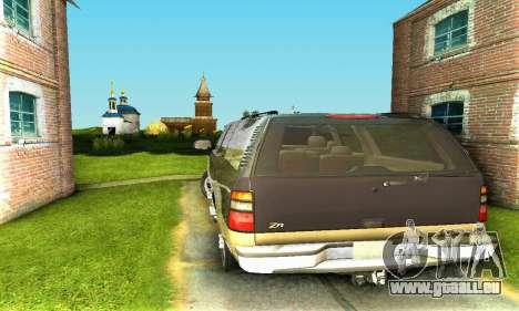 GMC Yukon XL 2003 für GTA San Andreas rechten Ansicht