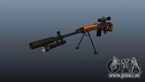 Dragunov Scharfschütze-Gewehr-A- & -K für GTA 4