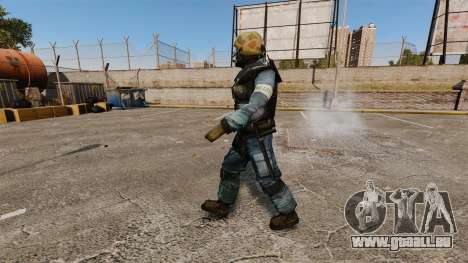 Commando de GSG-9 allemand pour GTA 4 secondes d'écran