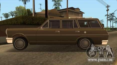 Perennial HD from GTA 3 pour GTA San Andreas laissé vue