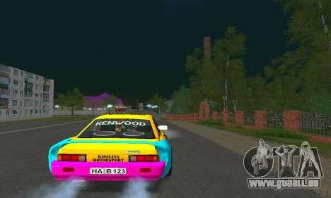 Opel Manta Mattig Extreme pour GTA San Andreas laissé vue