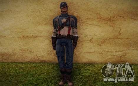 Captain America: First Avenger pour GTA San Andreas