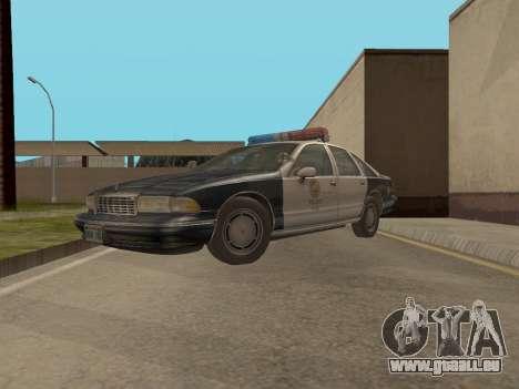 Chevrolet Caprice LAPD 1991 pour GTA San Andreas