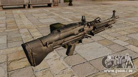 Mitrailleuse M60 polyvalente pour GTA 4 secondes d'écran
