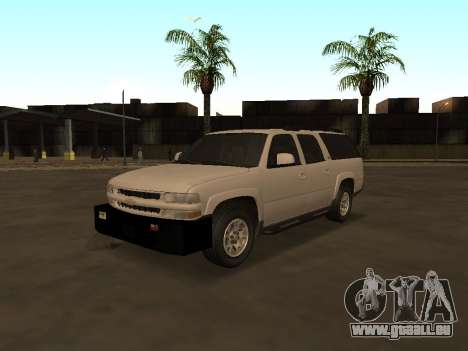 Chevrolet Suburban ATTF pour GTA San Andreas