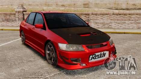 Mitsubitsi Lancer MR Evolution VIII 2004 Tuning für GTA 4