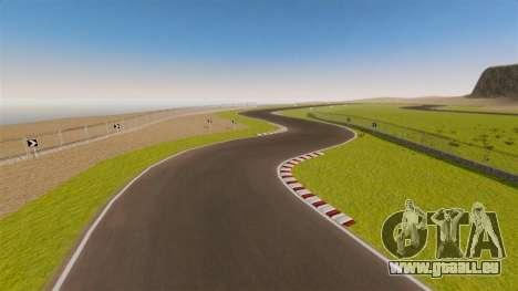 Rennstrecke Spa-Francorchamps Mini für GTA 4 fünften Screenshot