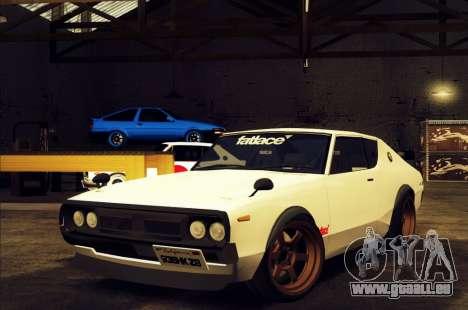 Nissan Skyline KPGC110 Fatlace pour GTA San Andreas