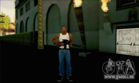 VSS Vintorez-tactique pour GTA San Andreas troisième écran