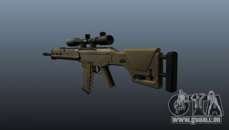 Selbstladegewehr Magpul Masada für GTA 4 Sekunden Bildschirm
